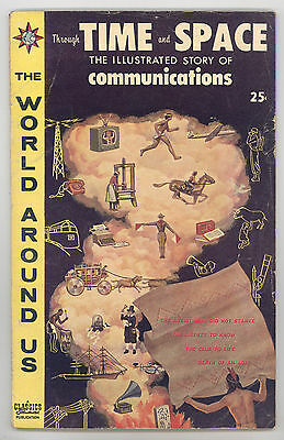 World Around Us #20 VG+ Time & Space (Communications), Crandall, Evans, Torres