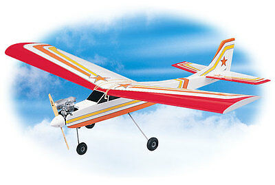 Brand New Great Planes Pt-60 Pt60 Trainer Balsa Airplane Kit .45-.60 Gpma0119 !!