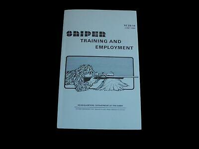 U.s Department Of The Army Sniper Training And Employment Handbook