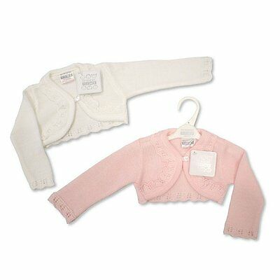 Baby Girls Bolero Fancy Cardigan Cardi Shrug 0 - 23 months