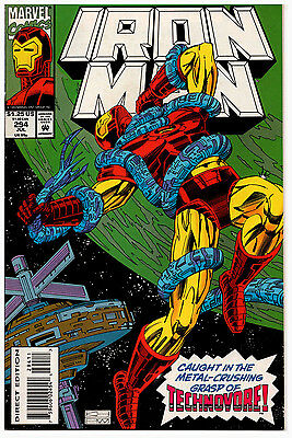 Iron Man #294 NM Hopgood & Mitchell - Technovore