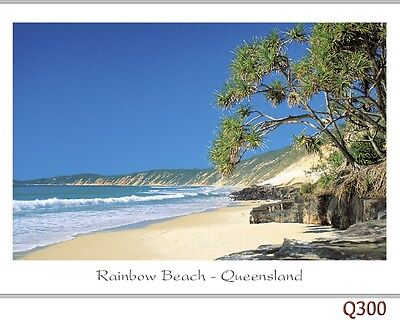 28 postcards Hervey Bay, Rainbow Beach, Fraser Island & Maryborough