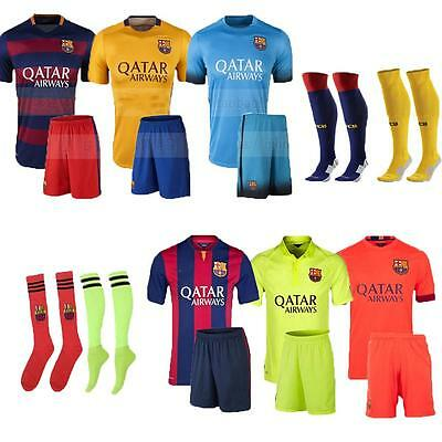 14/15/16 Kid Jersey Fußball-Fußball-Short Sleeve Suit Sport Team Outfits + Socke