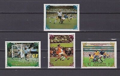 s5972) KOREA 1985 MNH** WC Football'86 - CM Calcio 4v.