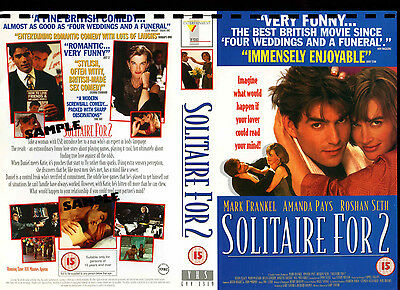 Solitaire For 2 - Mark Frankel - Video Promo Sample Sleeve/Cover #14381