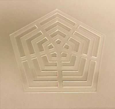 Acrylic Pentagon Quilting Template, Quilting, Sewing, Craft, Patchwork Ruler