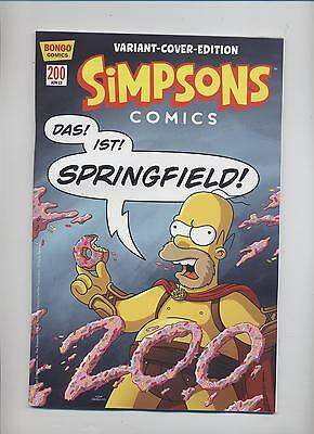SIMPSONS # 200 VARIANT-COVER-EDITION - Lim. 999 Ex. MÜNCHEN 2013 - TOP