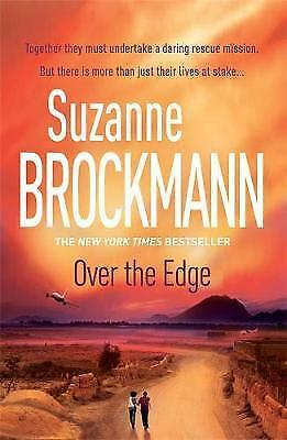Over the Edge by Suzanne Brockmann (Paperback) New Book