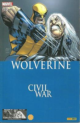 Wolverine N° 115 Collector Edition - Civil War - Panini Comics -2007- Comme Neuf