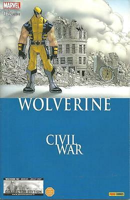 Wolverine N° 162 Collector Edition - Civil War - Panini Comics -2007- Comme Neuf