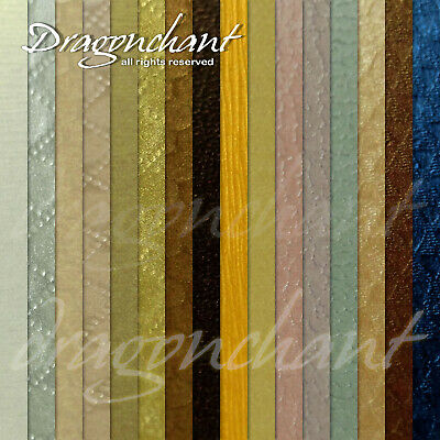Pack of 5 or 16 Pearlescent A4 120gsm Texture Paper Invitation Card Making Craft