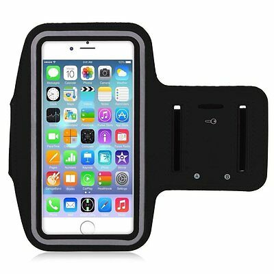 Adjustable Velcro Key Sports Running Armband Case Cover for Apple iPhone 6/6S