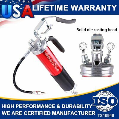 4500 PSI Heavy Duty Grease Gun Sealant Air Cordless Professional Pistol Grip