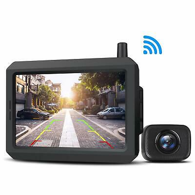 4.3″ LCD Color HD Rearview Mirror Monitor 2 Video Inputs Auto Adjust Brightness