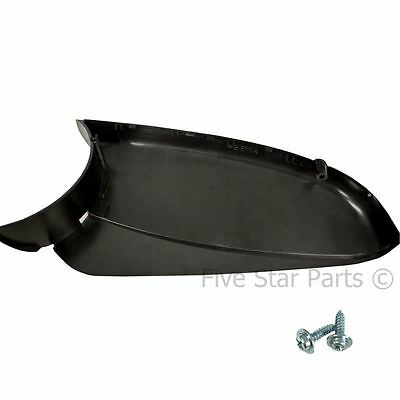Lower Right Side Black Wing Door Mirror Cover Holder for Vauxhall Astra H 04-09