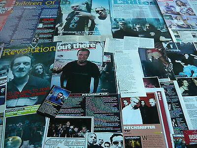 Pitchshifter - Magazine Cuttings Collection (Ref X12A)