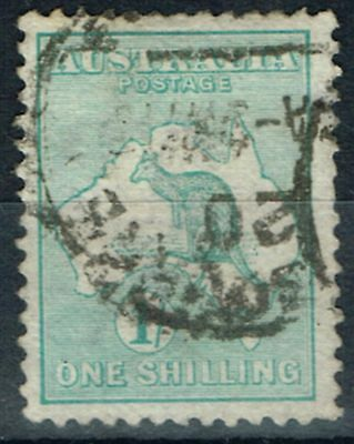 Australia 1913 1s Blue-Green SG11a Good Used