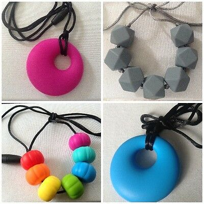 Baby Food Grade Silicone Chewable Teething Necklace for Nursing Mums🇬🇧UKseller