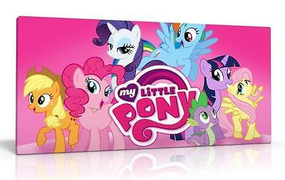 Single Canvas Picture Wall Art My Little Pony  New Choose From 2 Designs
