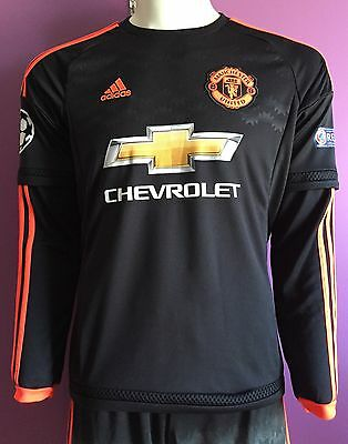 Manchester United FC 2015/2016 Third Jerseys Long Sleeves/Size Mens S M L/AC1446