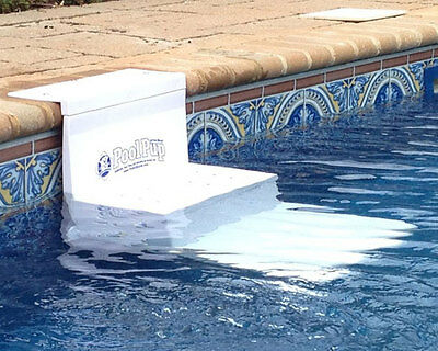PoolPup In-Ground Above Ground Pet Dog Pool Safety Steps PupSteps White