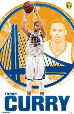 Steph Curry - Golden State Warriors Poster - 24X36 Nba Basketball Stephen 52130