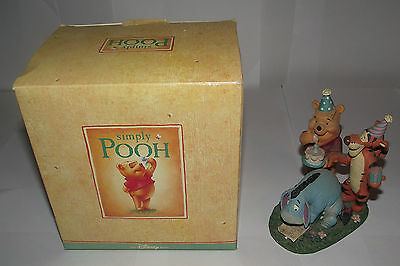 Disney Store Simply Pooh Just When You Think Its Been Forgot Its Not Figurine
