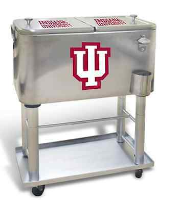 NCAA Indiana Hoosiers 60 Quart Detachable Stainless Sports Cooler NEW