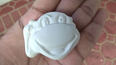20 x small size ready to paint Ninja Turtle face plaster figruine