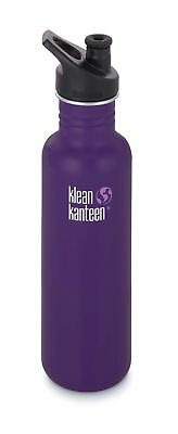 Klean Kanteen - Classic 800ml Berry Syrup - Sport Cap - Free P&P