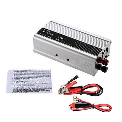 1500W DC 12V to AC 220-240V Solar Power Inverter Converter with Car Charger C6R8