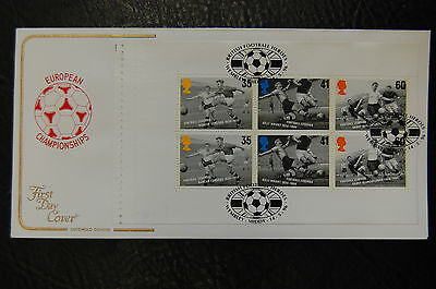 Euro 1996  Duncan Edwards Man United  Cotswold Football First Day Cover
