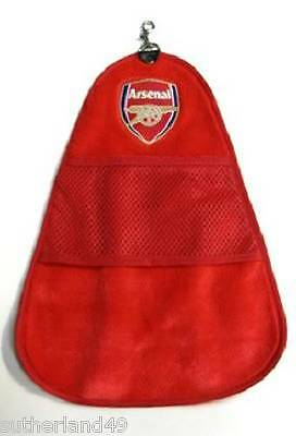Arsenal FC Cleanswing Golf Bag Towel - Gooner- The Gunners