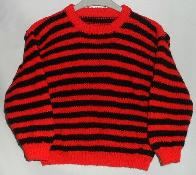 Childs Hand Knitted 'Dennis The Menace' Jumper
