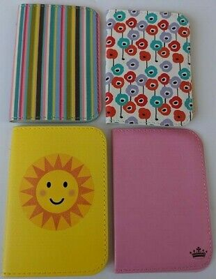 TRAVEL CARD BUS PASS HOLDER WALLET RAIL CARD sausage dog owls butterfly