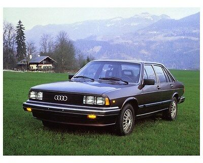 1982 Audi 5000S 5000 Turbo Factory Photo ca4888