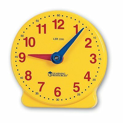 Learning Resources Big Time Student Clock (12 HR) MODEL NO.LER2095 12-hour clock