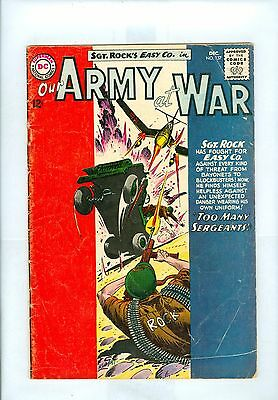 Our Army at War #137 VG+ Kubert, Abel, Sgt Rock & Easy Company