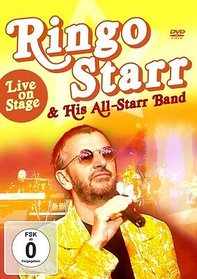 STARR  RINGO & HIS ALL-STARR BAND - Live on Stage