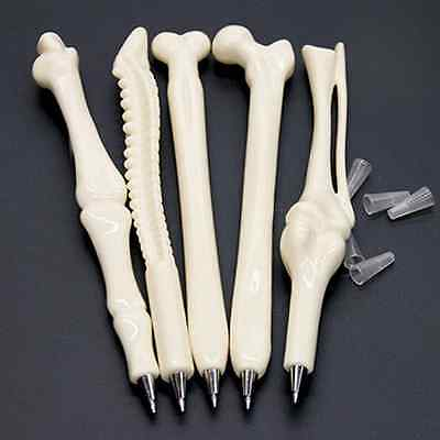 1x Creative Ball point Pen Bone Shape Nurse Doctor Student Stationery Gift