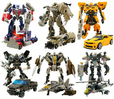 Dark of the Moon Transformers Autobots Optimus Prime etc Action Figures Robot