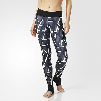 Adidas Ultimate Fit Superlong Womens Climalite Long Tights Bottoms Pants