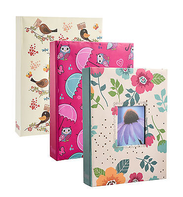 "Arpan 5"" X 7"" Designer Photo Album with 200 Pockets In 3 Designs  1131"