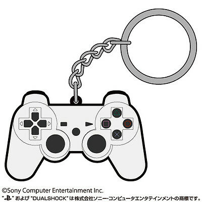 PlayStation DualShock 3 Controller Rubber Keychain Japan Sony Official New