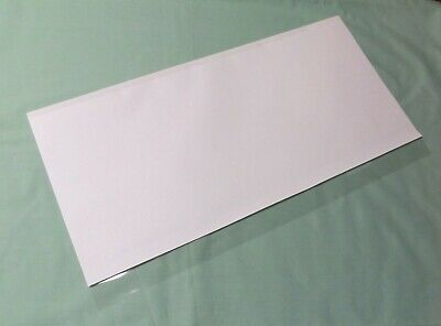 """5-16""""x30"""" Brodart Just-a-Fold III Archival Book Jacket Covers, Super Clear Mylar"""