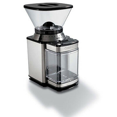 Electric Coffee Grinder Bean Blender Burr Plates Professional Mill Automatic NEW