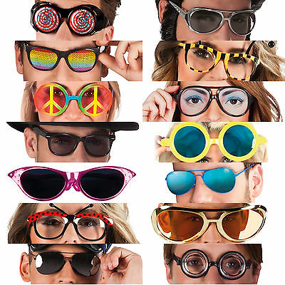 Funny Crazy Glasses Costume Party Sunglasses Fancy Dress Period Accessories