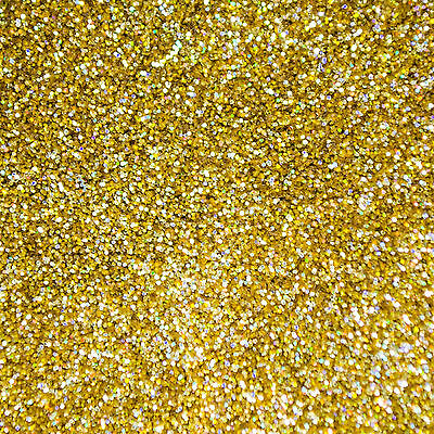 25g Gold Gone Wild - HOLOGRAPHIC Metal Flake 0.008