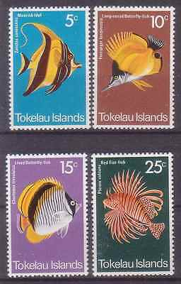 Tokelau 1975 Fishes. MNH