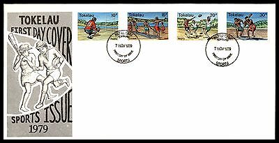 Tokelau 1979 Local Sports  FDC